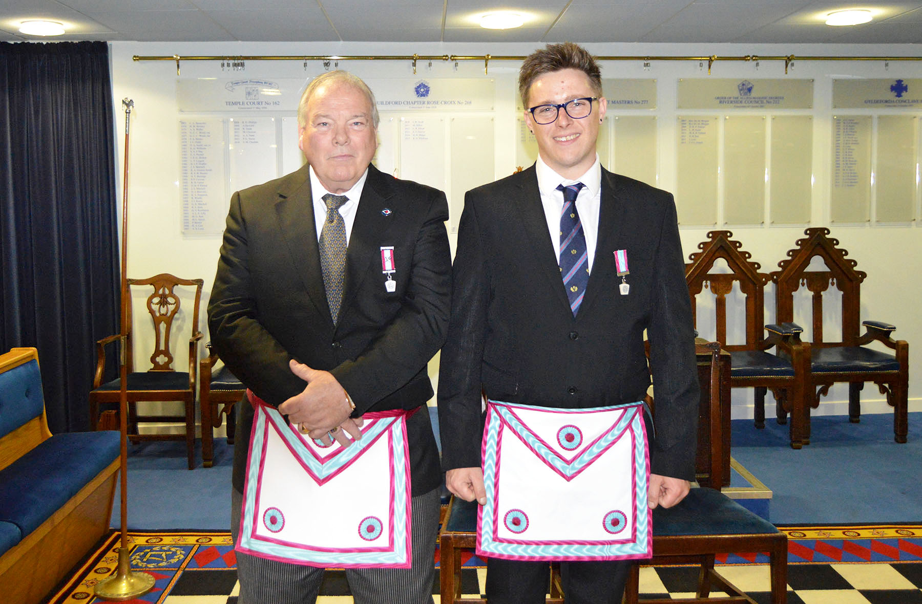 Recruitment drive working well for Percy Lodge