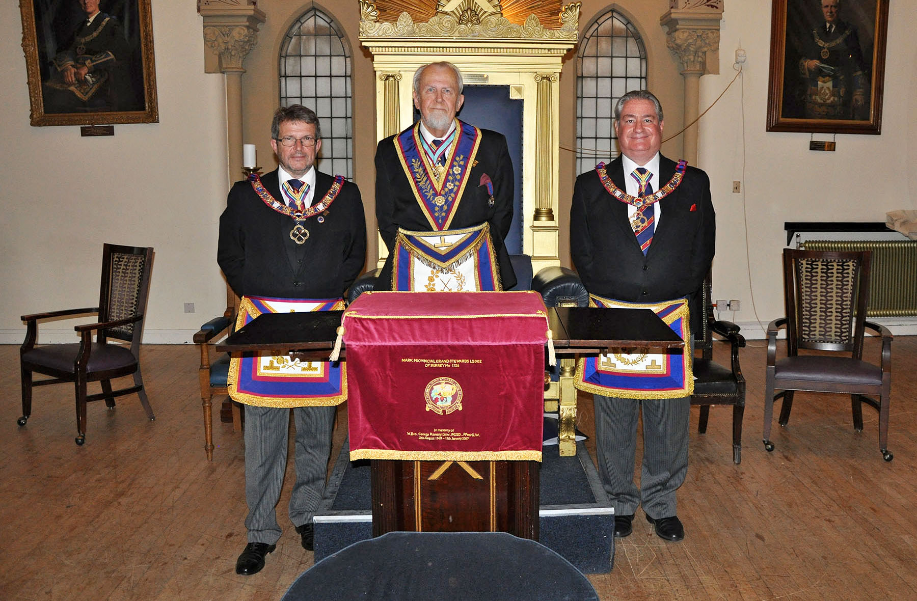 Mark Provincial Grand Stewards Lodge Meeting