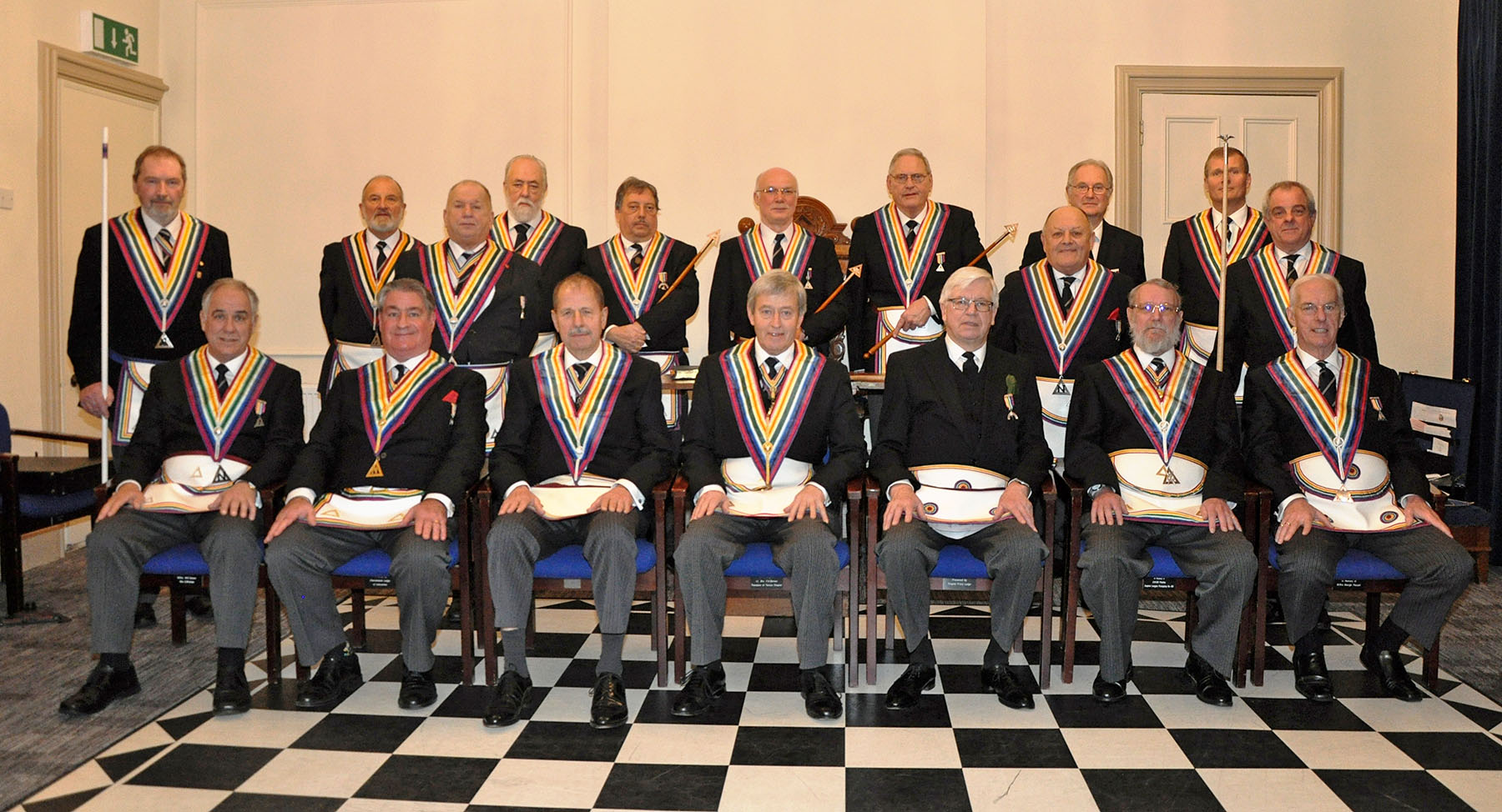 Executive Visit to Kintore Lodge