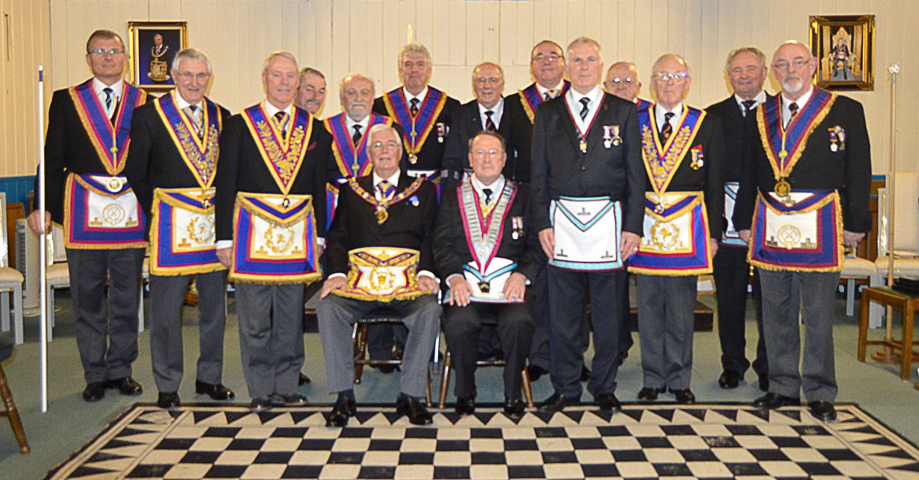 The first Surrey Mark Lodge to achieve MBF Grand Patron Gold Award