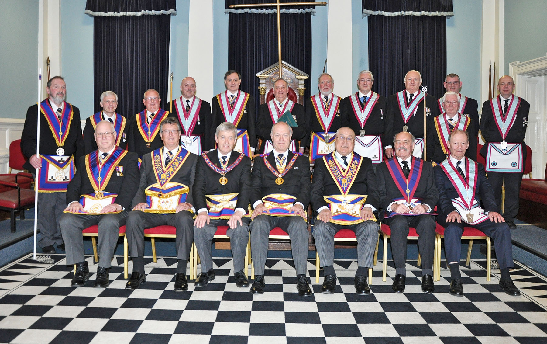 Executive visit to Stoneleigh Mark Lodge