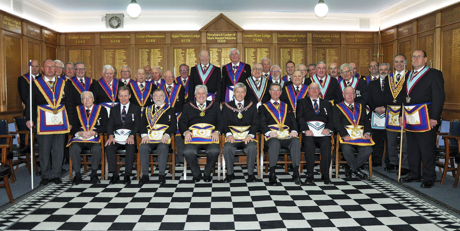 A very special meeting of Ditton Lodge