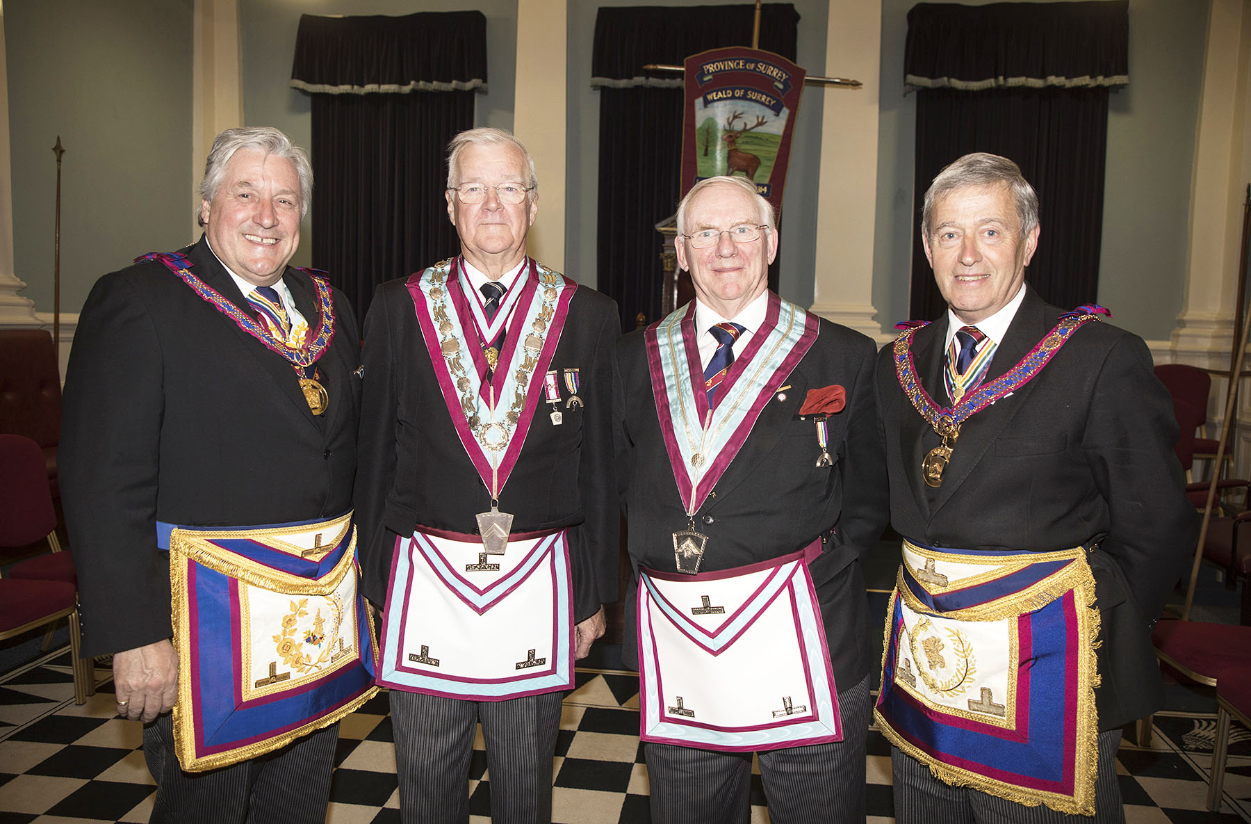 Executive visit to Weald of Surrey Lodge