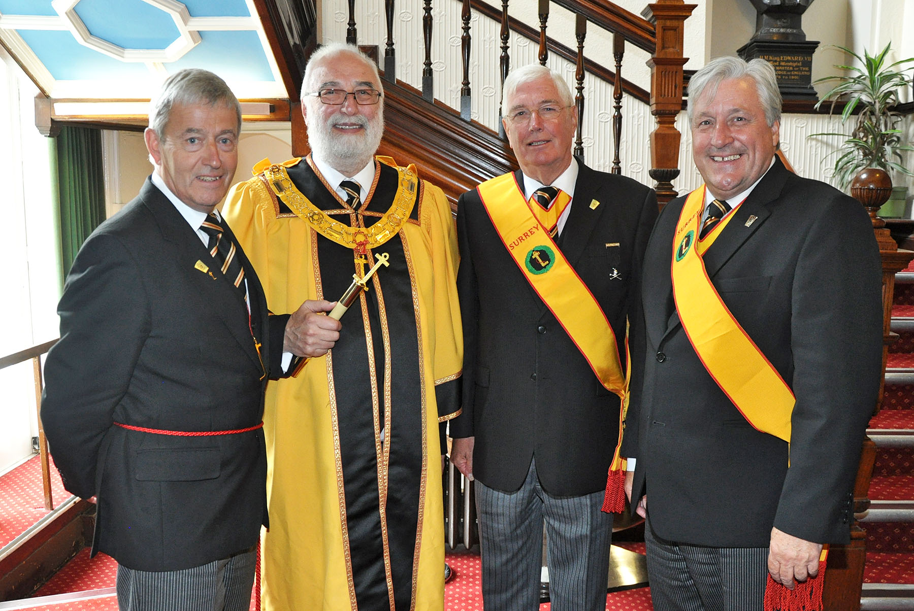 Surrey Mark supports the Ancient and Masonic Order of the Scarlet Cord