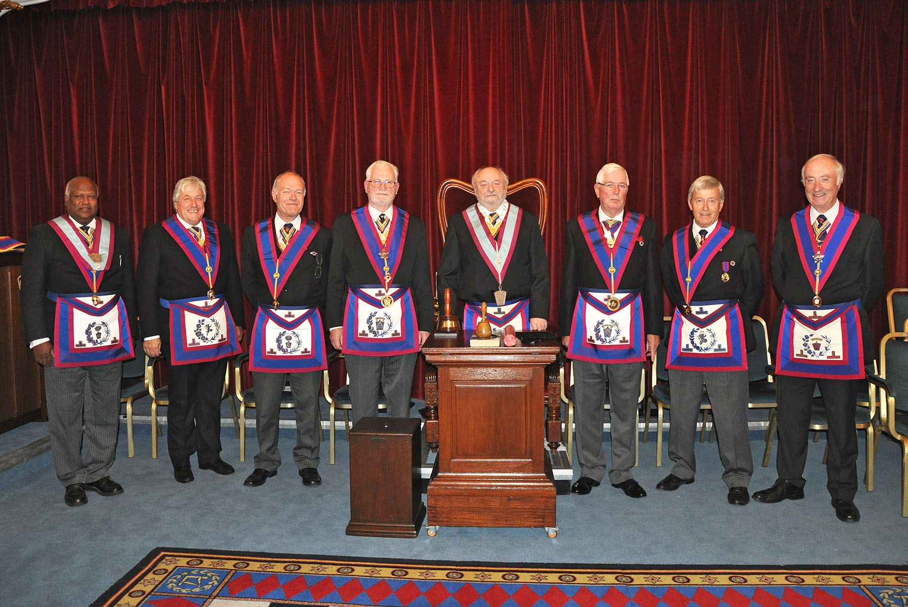 London Installed Mark Master Lodge
