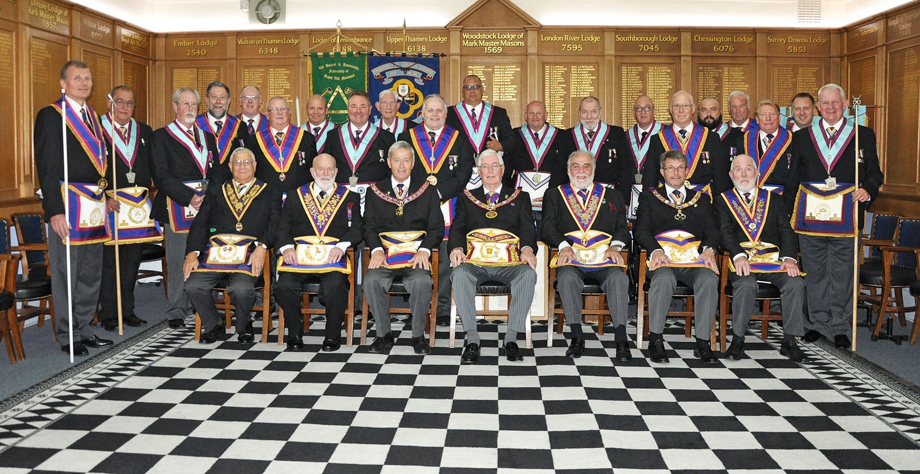 The Provincial Grand Master visits Noel Lodge
