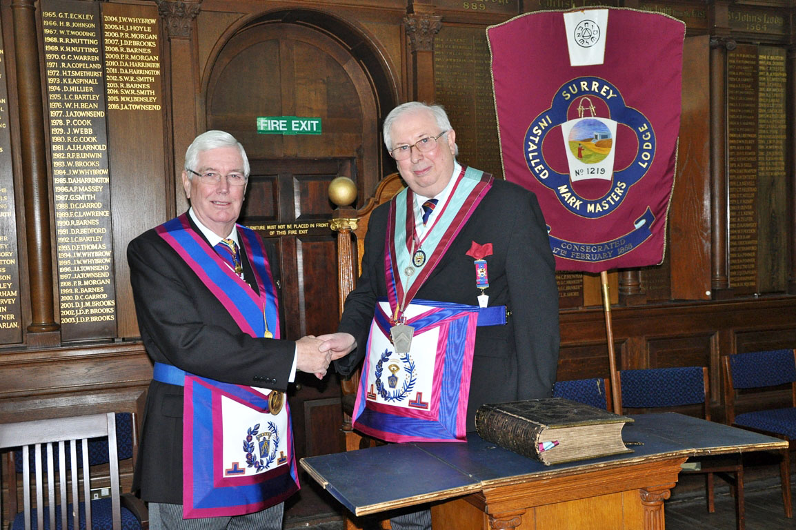 Mark Enthroned Commanders and Installed Masters Lodge Meetings