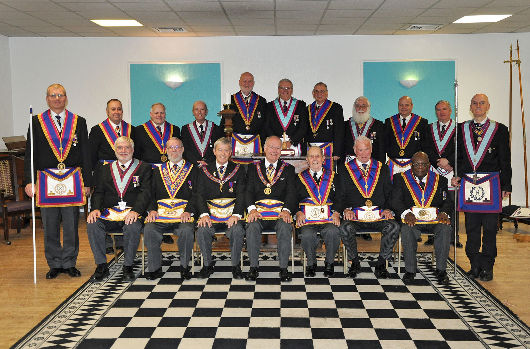 Executive visit to Redhill Ram and Mark Lodges