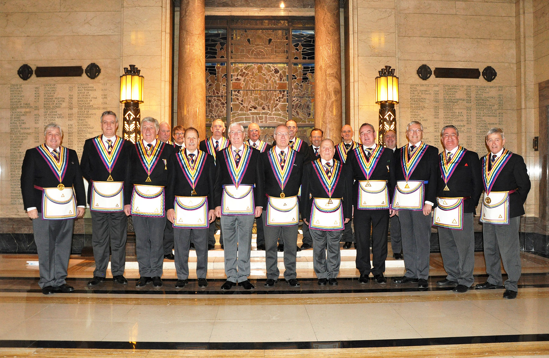 Grand Rank in the Ancient and Honourable Fraternity of Royal Ark Mariners