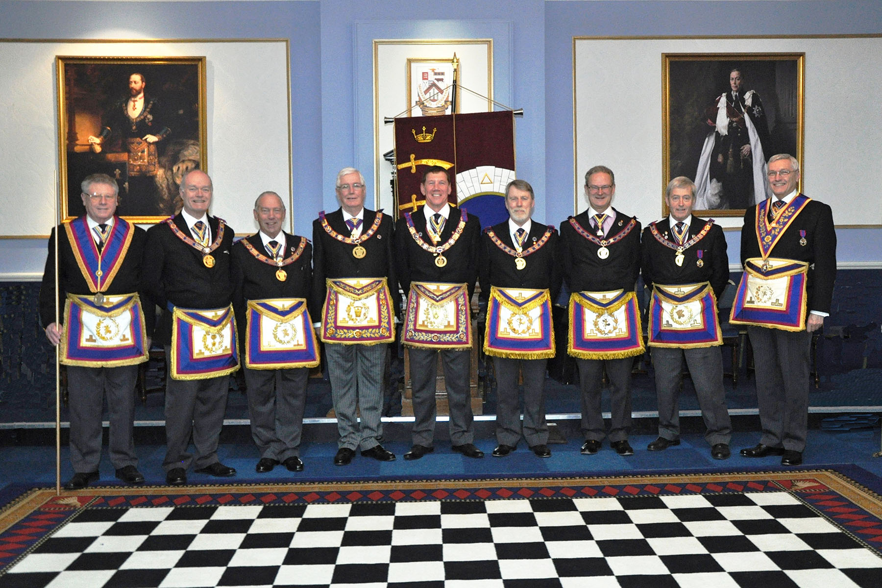 Provincial Grand Lodge of Middlesex Banner Dedication