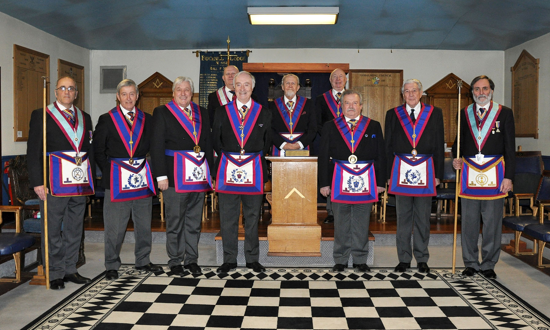 The Last Meeting of Esher Royal Ark Mariners Lodge