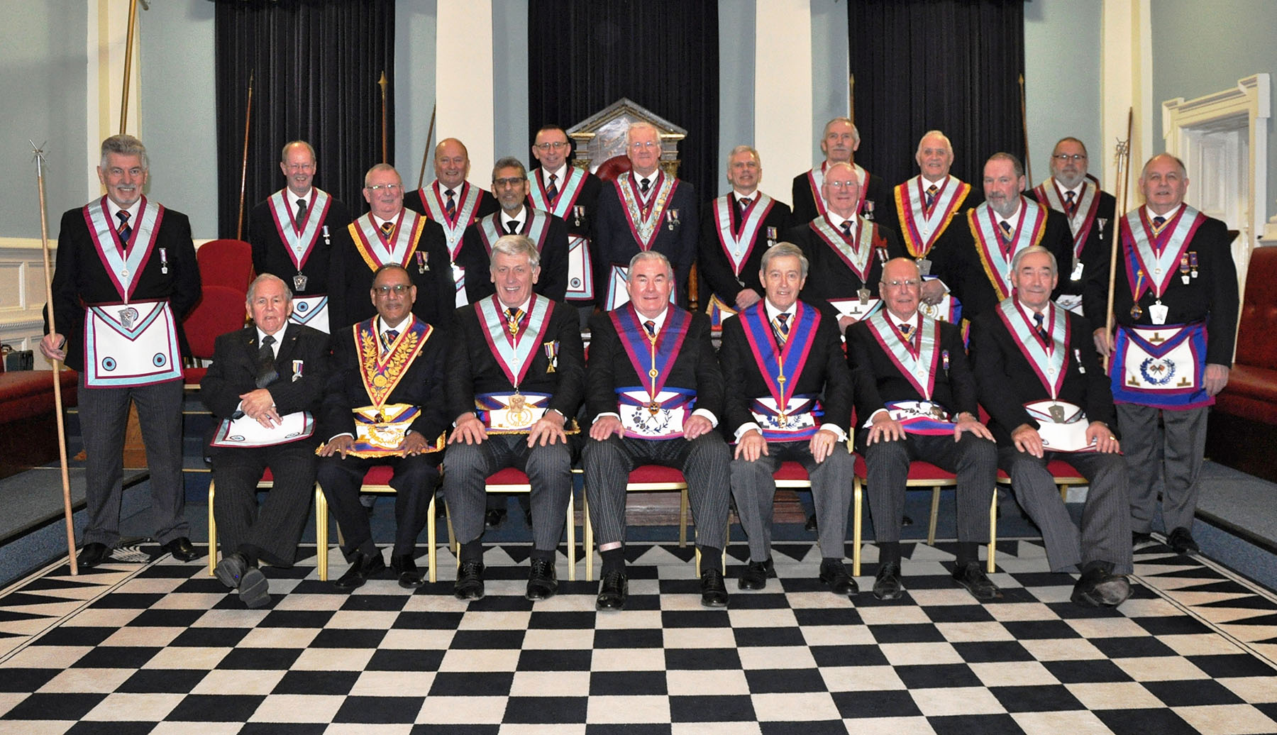 The Assistant Provincial Grand Master is Elevated into Royal Ark Mariner – again