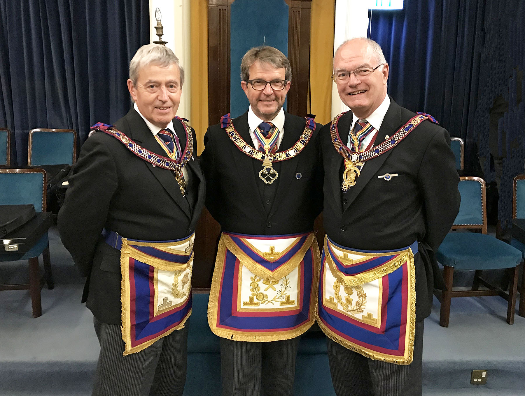 Visit to the Provincial Mark Grand Lodges of South Wales and Monmouthshire