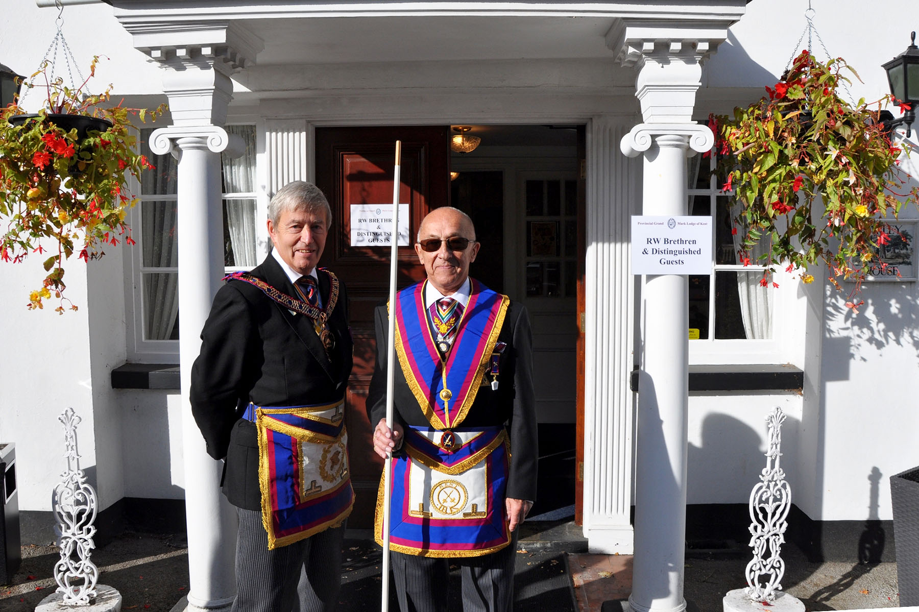 A Visit to the Provincial Grand Lodge of Mark Master Masons of Kent