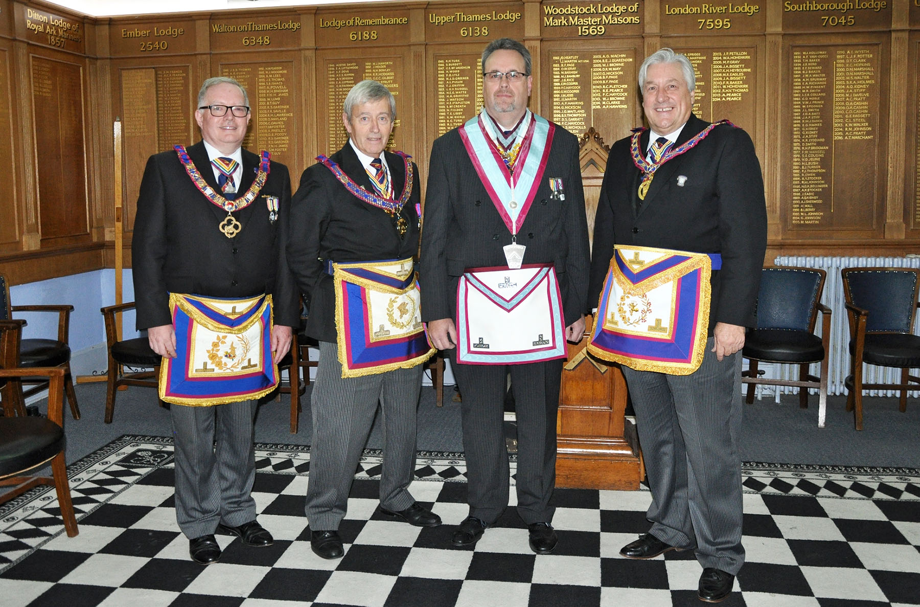 An Executive visit to Richmond Mark Lodge