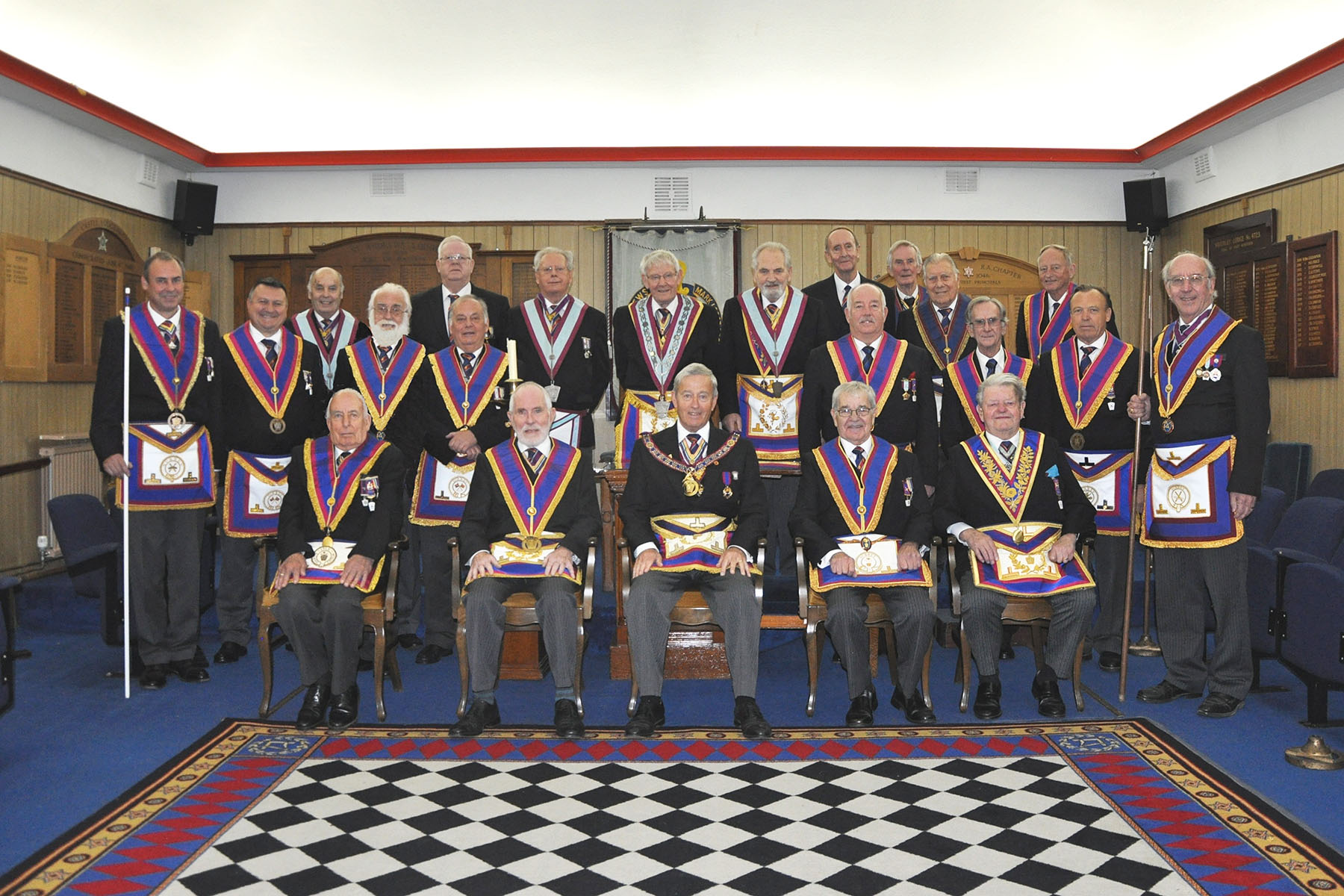 An Executive visit to St Andrews Lodge