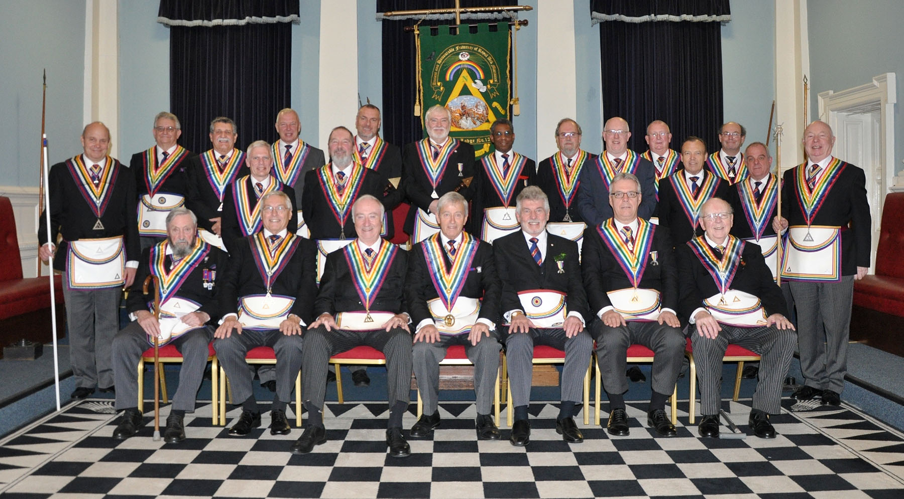 An Executive visit to Welcome Lodge