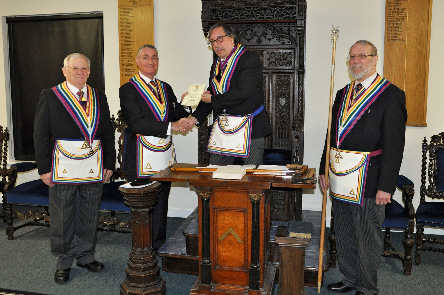 An Official Visit to Lingfield Lodge