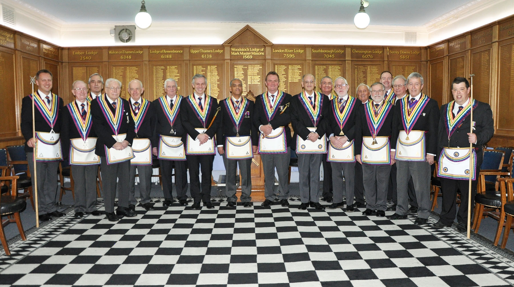 An official visit to Richmond Lodge of Royal Ark Mariners