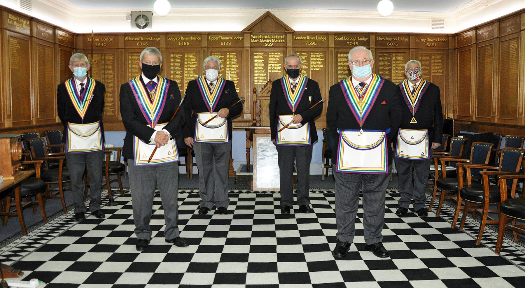 The Surrey Enthroned Commanders Rule of Six meeting
